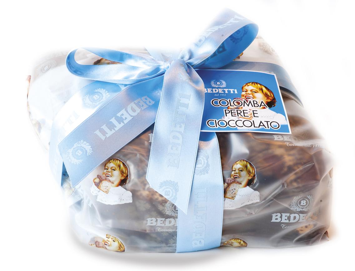 Colomba Pere Cioccolato Pasqua Bedetti 2017