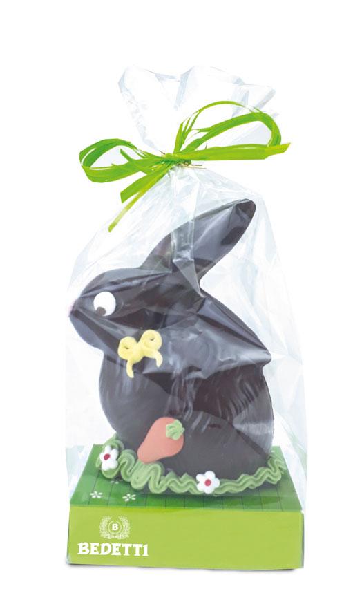 Coniglietto cioccolato fondente