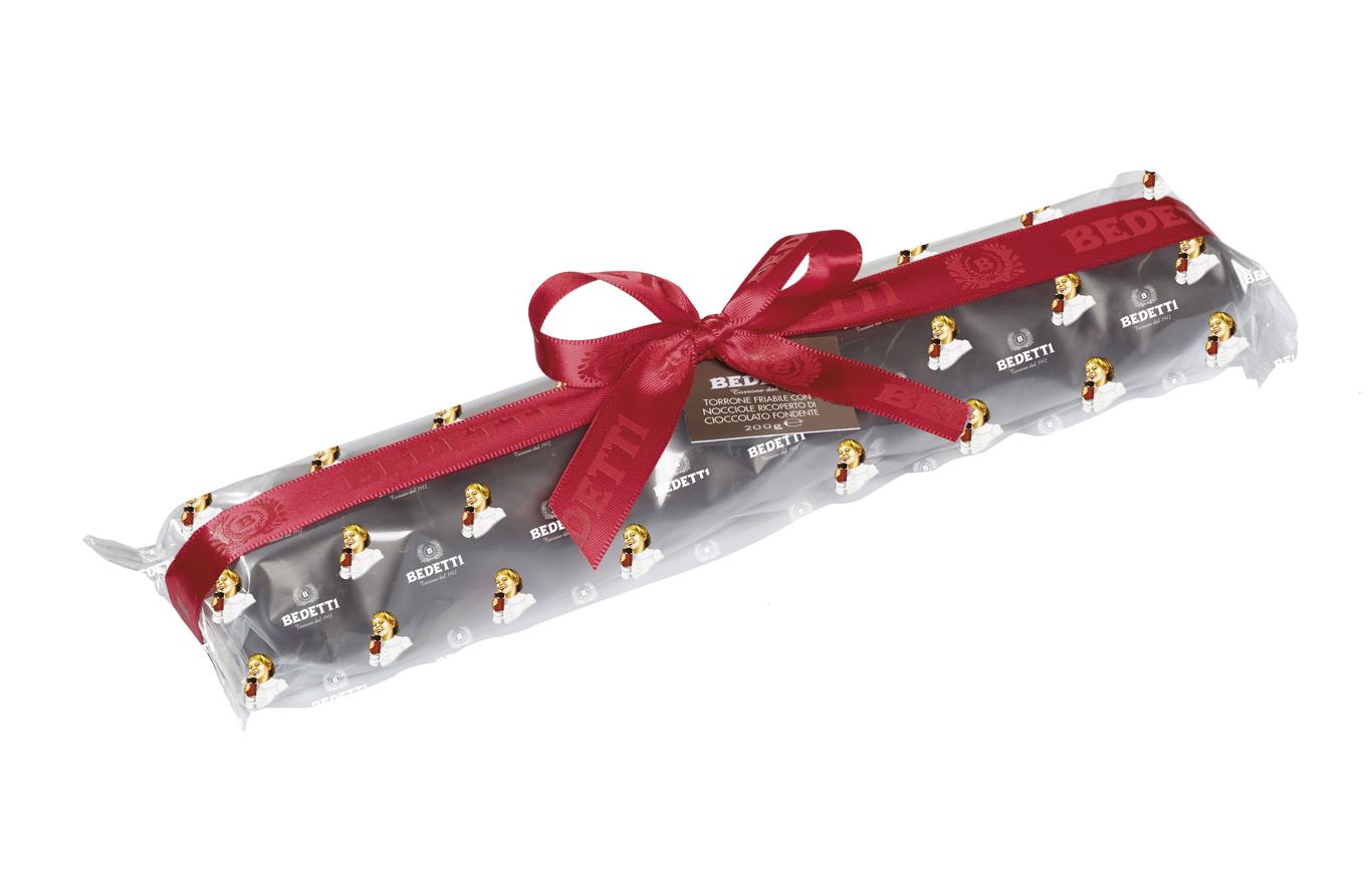 Torta torrone friabile con mandorle bedetti Natale