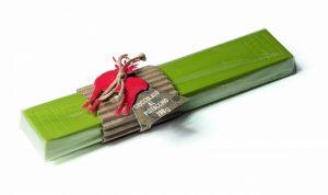 Barra di Cioccolato al pistacchio Torrone Bedetti bella idea