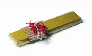 Barra di cioccolato curcuma e pepe nero Torrone Bedetti bella idea