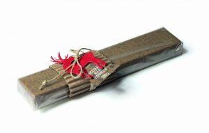 Barra di ciococlato alla liquiriza Torrone Bedetti bella idea